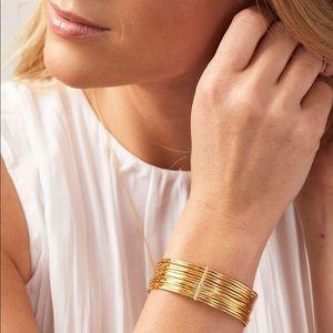 Gorjana Josey Gold Cuff Bracelet.
